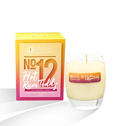 The Oil Bar No. 12 Hot Rum Toddy Soy Massage Candle (Best Rum For Hot Toddy)