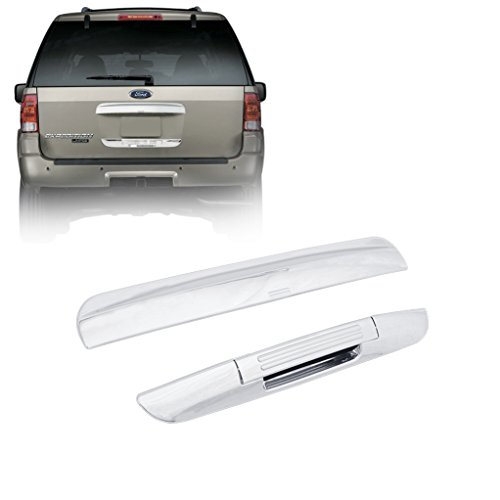 E-Autogrilles Chrome ABS Rear Upper/Lower Hatch Cover for - Expedition Chrome