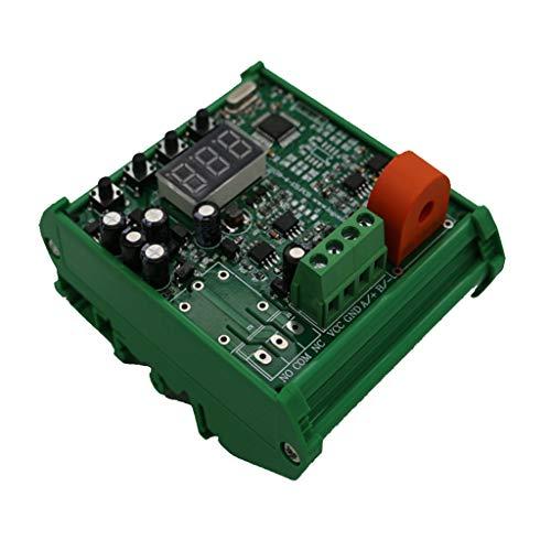 gazechimp 5A 0-5V AC電流検出センサ 調整可能 電流センサースイッチ 全2選択 - ベース付き