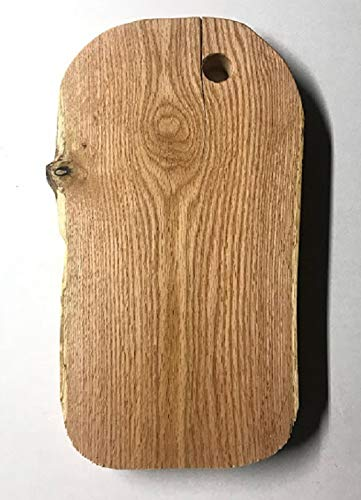 Live edge Red Oak cutting board/Cheese platter ()
