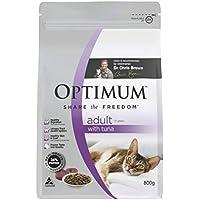 Optimum Adult Tuna Cat Food 800 g 1 Pouch Medium