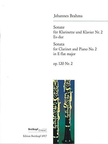 (Brahms: Clarinet Sonata in E-flat Major, Op. 120, No. 2)