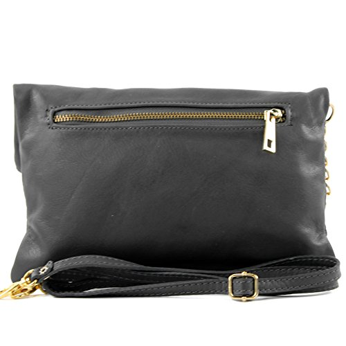 Clutch small leather croco Dark Gray bag bag underarm bag Italian T54 bag Wild shoulder shoulder nappa leather leather 6wqzTxPgE