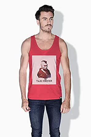 Creo Taxi Driver Movie Posters Tanks Tops For Men - L, Pink