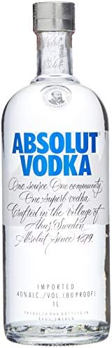 Vodka Absolut, 1L