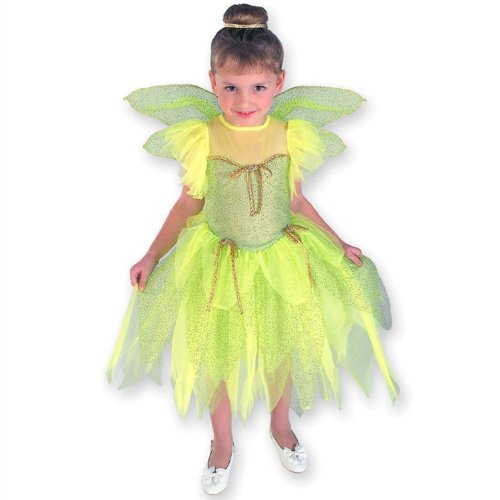Child Disney Tinkerbell Costume Toddler]()