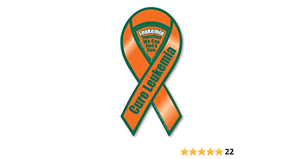 """4/""""-10/"""" THROAT CANCER AWARENESS Car Ribbon Magnet Support Find A Cure"""