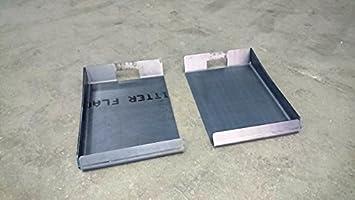 Koppelhaken frontlader radlader anschweißkonsole für bobcat stoll