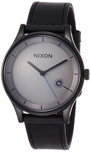 [ニクソン]NIXON STATION LEATHER: ALL BLACK NA1161001-00