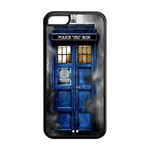 Every New Day Popular Doctor Who Tardis Unique Custom ipod touch 5 ipod touch 5 Best Durable Rubber+PVC Cover Case