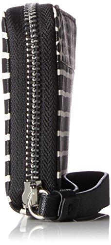 ESPRIT 057ea1v001 - Portafogli Donna, Schwarz (Black), 1x9,5x19,5 cm (B x H T)