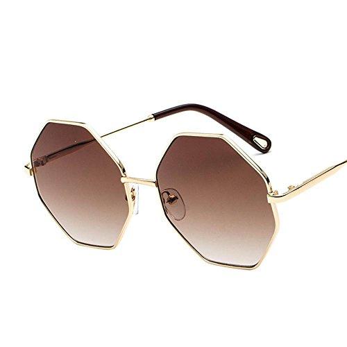 Aoligei Lunettes de soleil femmes mans conduite visage rond visage mince  lunettes de soleil H f80a184693d6