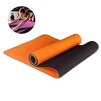 YOOMAT 8 Color 6MM TPE Esterillas de Yoga Antideslizantes ...