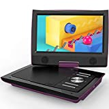 "ieGeek 11"" Portable DVD Player with Dual Earphone Jack, 360° Swivel Screen, 5"