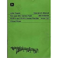 JOHN DEERE 100,150, 100FH, 150FH CHISEL PLOWS OPER