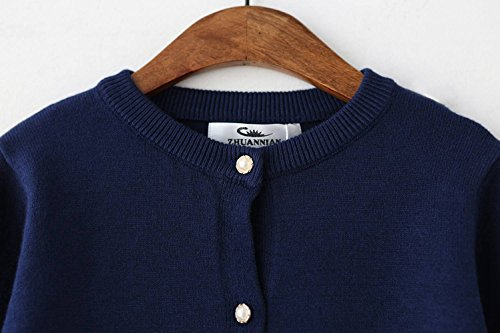 SMILING-PINKER-Little-Girls-Crewneck-Cardigans-Button-Knitted-Uniform-Sweaters-Solid-Long-Sleeves