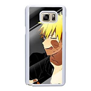 Custom made Case,Naruto Uzumaki Cell Phone Case for Samsung Galaxy Note 5, White Case With Screen Protector (Tempered Glass) Free S-7306098