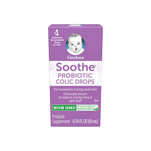 Cheap Gerber Soothe Baby Probiotic Colic, 0.34 fl oz colic drops for baby