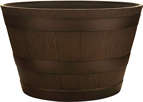 Southern Patio HDR Whiskey Barrel - Dimensions Whiskey Barrel