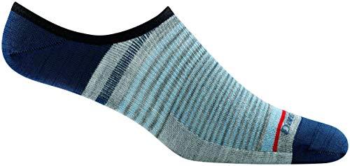 Darn Tough Topless Stripe No Show Light Sock - Men's Blue Large