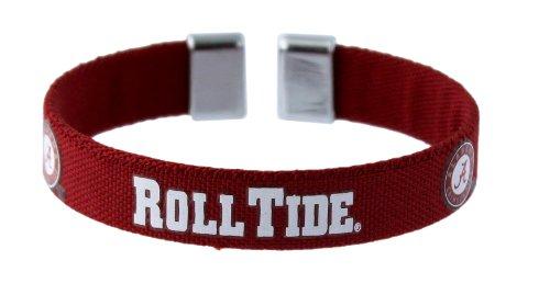 NCAA Alabama Crimson Tide Ribbon Band Bracelet