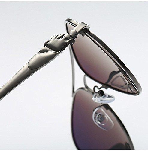 400 Miroir 6 en Xinke Objectif aviateur Lunettes UV de polarisées Homme pour nbsp;Protection métal Soleil Femme wfOwTq4