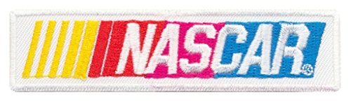 Nascar Racing Motrsport Rennsport USA white iron sew on patches Logo Vest Jacket Hat Hoodie Backpack Iron On patches