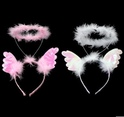 (over 48 Dream Angels Halo super cute hair bands hair bands girls dream angel wings hair bands for women girl lady)
