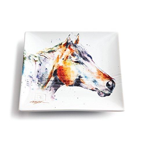 Demdaco 3005210345 Big Sky Carvers Horse Head Snack Plate, Multicolored by Demdaco (Image #1)