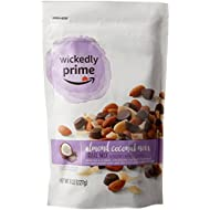Wickedly Prime Trail Mix, Almond Coconut Noir, 8 Ounce