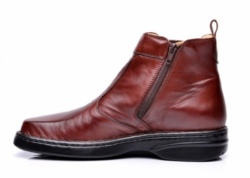 Opananken Mens Super Care Bardolino Vegetable Tanned Sheep Leather Boot Coffee XZkUVBLO