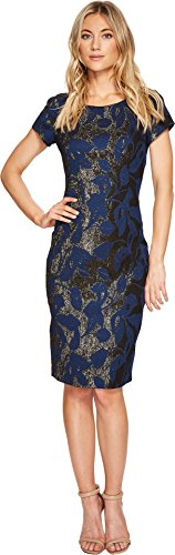 Jacquard Sheath Dress - 3