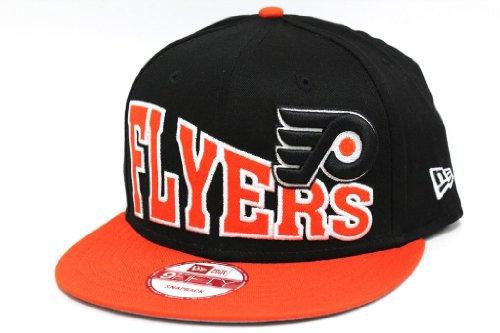 New Era Unisex Philadelphia Flyers Stoked Snap Orangeade Snapback Hat One Size Black