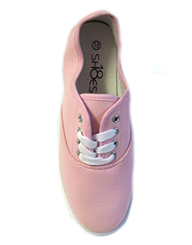 Shoes 18 Canvas 324 Sneakers Colors Pink Available Womens up 18 Shoes Lace Baby t04xnqaAww