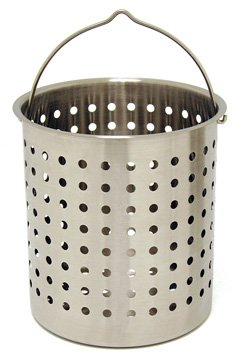 Perforated Basket 24 Qt Stainless Steel
