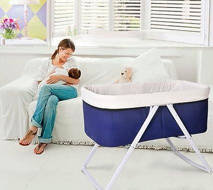 Star Ibaby Pouch Cuna de bebe plegable color Purple