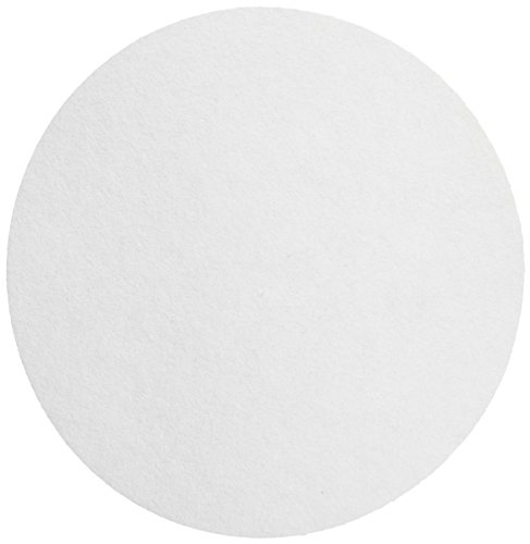Whatman 1450-240 Hardened Low Ash Quantitative Filter Paper, 24.0cm Diameter, 2.7 Micron, Grade 50 (Pack of 100) by Whatman