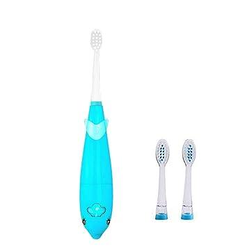Amazon.com: Niño cepillo para polvo de dientes eléctrico ...
