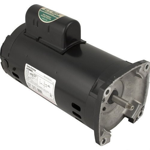 Pentair 355203S Black 1 HP 3-Phase Square Flange Motor Replacement Inground Pool and Spa Pump by Pentair