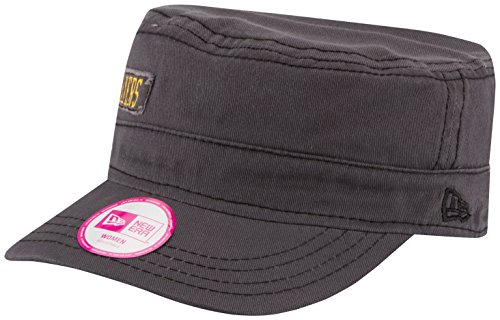 NBA Los Angeles Lakers Women's Major Chic Adjustable Military Cap, One Size, - Los Angeles Chic