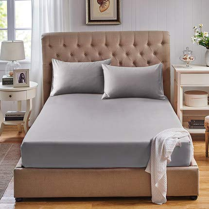 Blue PMS 287 American Pillowcase College Dorm Twin XL Bed Fitted Mattress Sheet Ultra Soft Hypoallergenic Wrinkle-Free and Fade Resistant Stain