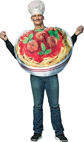 Rasta Imposta Adult Spaghetti and Meatballs Costume -