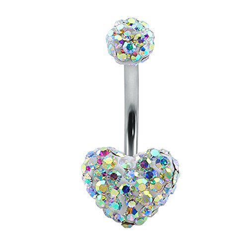 heart belly rings - 6