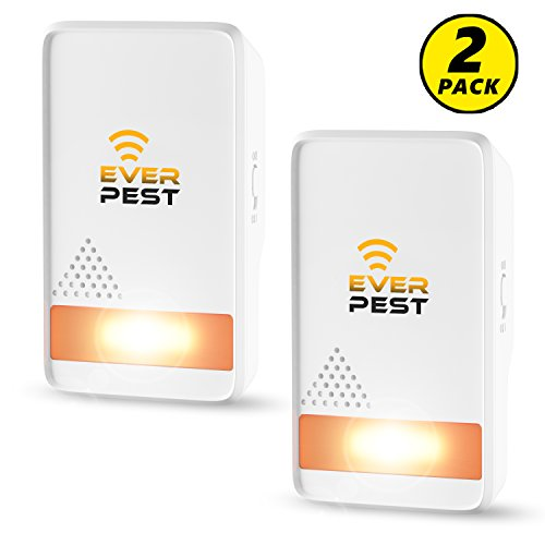 Ever Pest Ultrasonic Pest Repellent Control 2018  Plug In Home Indoor And Outdoor Repeller  Get Rid Of Mosquito  Ant  Flea  Rats  Roaches  Cockroaches  Fruit Fly  Rodent  Insect