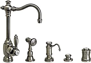 product image for Waterstone 4800-4-AB Annapolis Prep Faucet 4pc. Suite Antique Brass