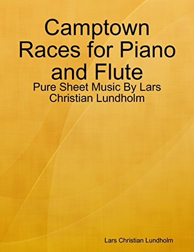 Camptown Races for Piano and Flute - Pure Sheet Music By Lars Christian Lundholm