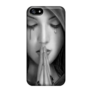 New Style Annmali Hard Case Cover For Iphone 5/5s- Gothic Prayer