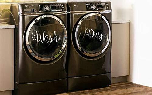 CELYCASY calcomanías para lavar y secar en lavadora y ...