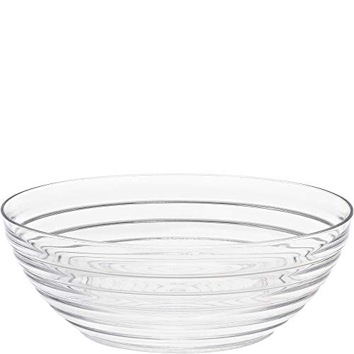 Crystalware 10 Quart Plastic Ringed Bowl ()