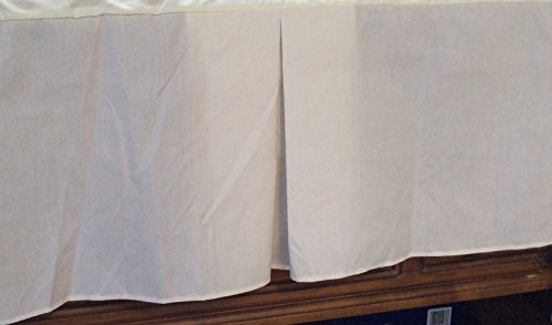 50/50 Poly Cotton Percale Daybed Bedskirt - Tailored with Kick pleats with Split Corners 14